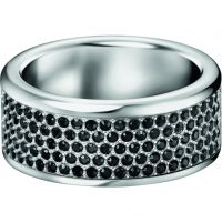 Ladies Calvin Klein Stainless Steel Size L.5 Hook Ring KJ06BR040106