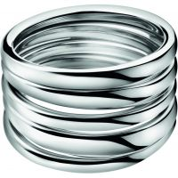 Ladies Calvin Klein Stainless Steel Size O Sumptuous Ring KJ2GMR000107