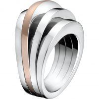 femme Calvin Klein Jewellery Breathe Ring Watch KJ3DPR200107