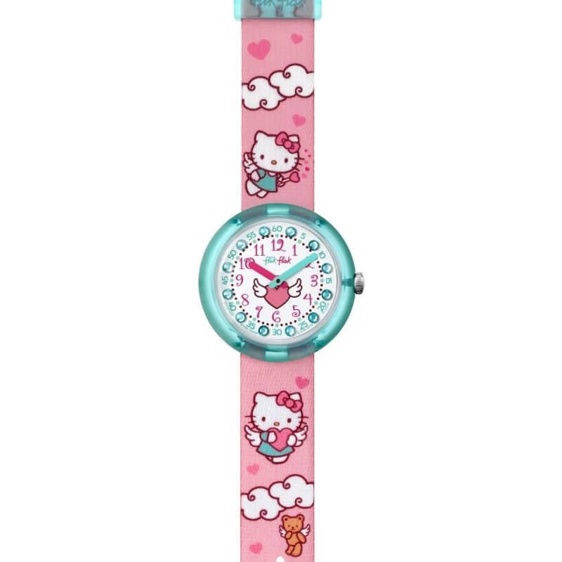 Childrens Flik Flak Hello Kitty Watch FLNP020