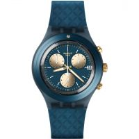 unisexe Swatch Irony Diaphane - Ardoise Chronograph Watch SVCN4006