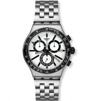 Herren Swatch Irony Chrono - Destination Rotterdam Chronograph Watch YVS416G