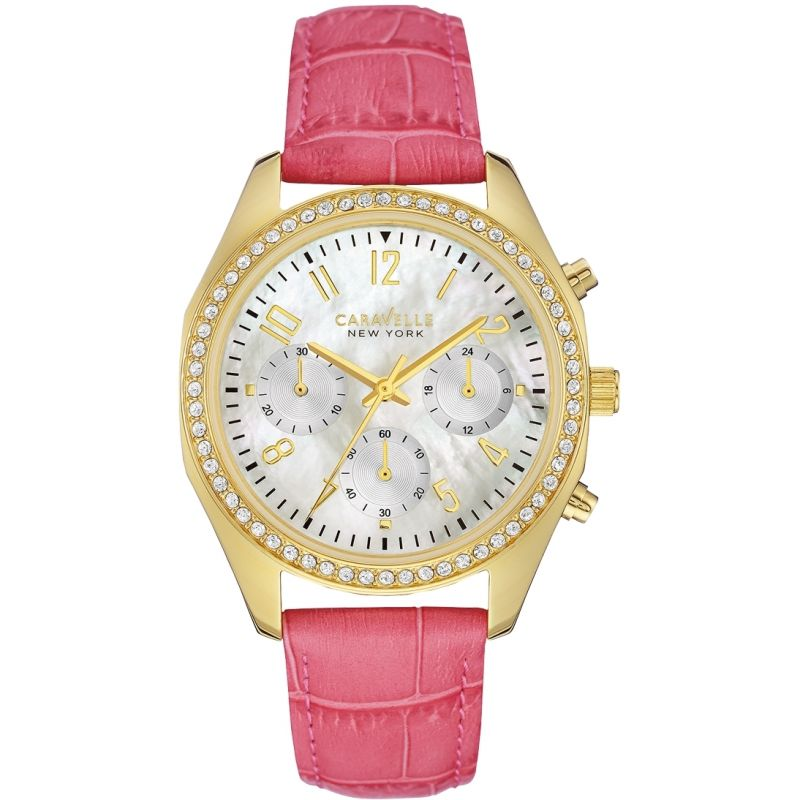 Ladies Caravelle New York Melissa Chronograph Watch 44L169