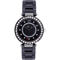 Damen Juicy Couture luxuriös Couture Keramik Uhr