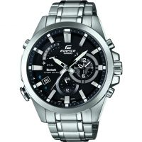 homme Casio Edifice Time Traveller Bluetooth Hybrid Smartwatch Alarm Chronograph Tough Solar Watch EQB-510D-1AER
