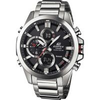 Herren Casio Edifice Bluetooth Hybrid Smartwatch Alarm Chronograph Watch ECB-500D-1AER