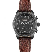 Herren Barbour Byker Chronograph Watch BB033GNBR