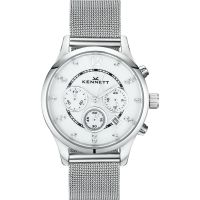 Damen Kennett Lady Savro Milanese Chronograph Watch LWSAVWHSILMIL
