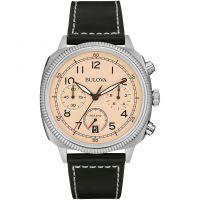 Herren Bulova Militär UHF Chronograf Uhr