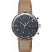 Mens Junghans Max Bill Chronoscope Automatic Chronograph Watch