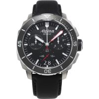 Mens Alpina Seastrong Diver 300 Chronograph Watch