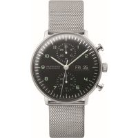 homme Junghans max bill Chronoscope Chronograph Watch 027/4500.45