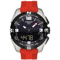 Mens Tissot T-Touch Expert Titanium Alarm Chronograph Solar Powered Watch