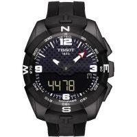 Mens Tissot T-Touch Expert Solar Alarm Chronograph Solar Powered Watch