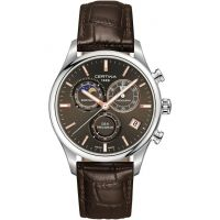 homme Certina DS-8 Precidrive Moonphase Chronograph Watch C0334501608100