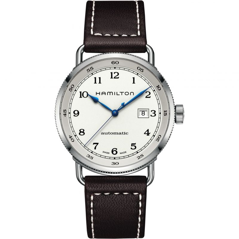 homme Hamilton Khaki Navy Pioneer Watch H77715553