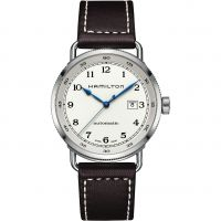 Mens Hamilton Khaki Navy Pioneer Automatic Watch