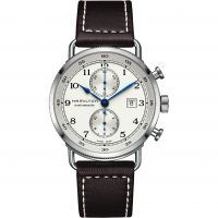 Mens Hamilton Khaki Navy Pioneer Automatic Chronograph Watch