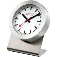 horloge Mondaine Swiss Railways Magnetic Desk Clock A6603031881SBB