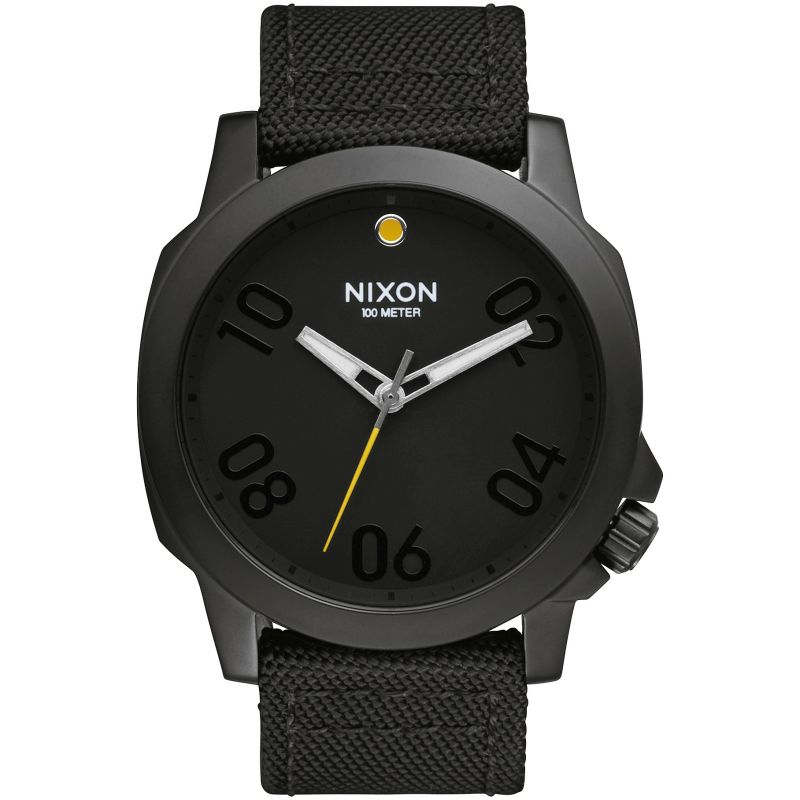 Mens Nixon The Ranger 45 Nylon Watch A514-001