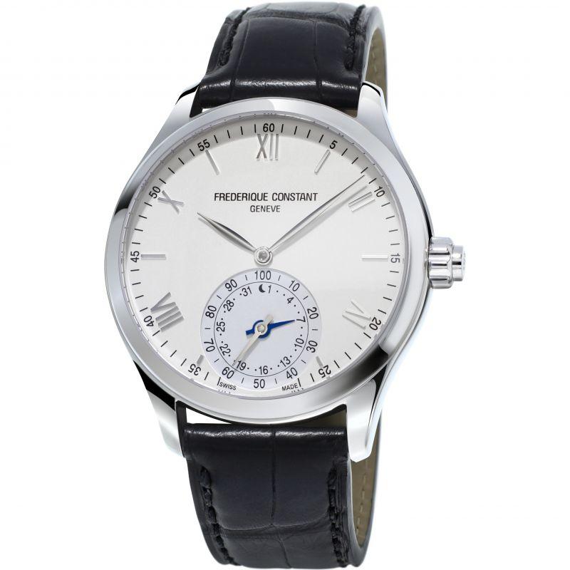 Herren Frederique Constant Horological Smartwatch Bluetooth Hybrid Watch FC-285S5B6