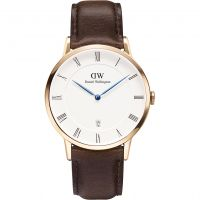Herren Daniel Wellington Dapper 38mm Bristol Rose Uhr