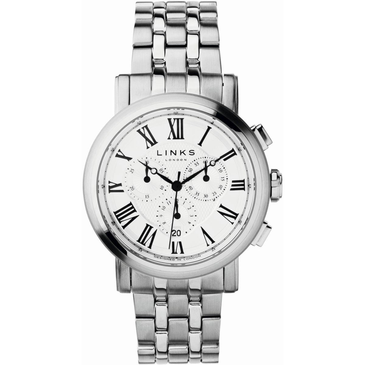 Mens Links Of London Richmond Chronograph Watch 6020.1132