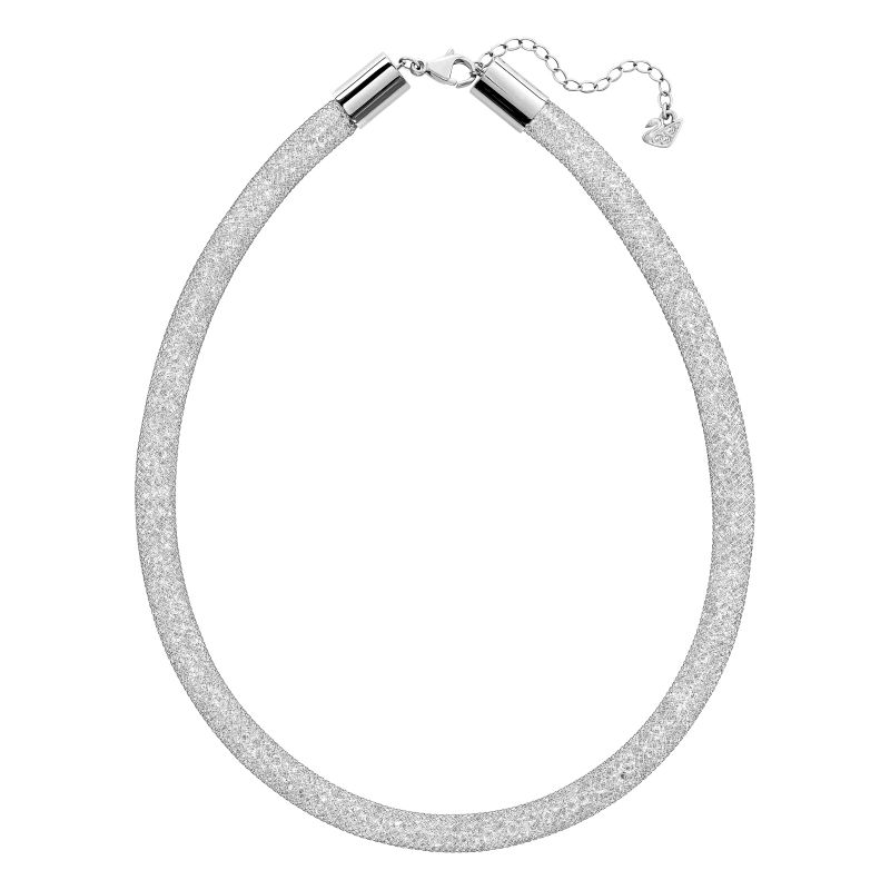 Ladies Swarovski Stainless Steel Stardust Necklace 5180944