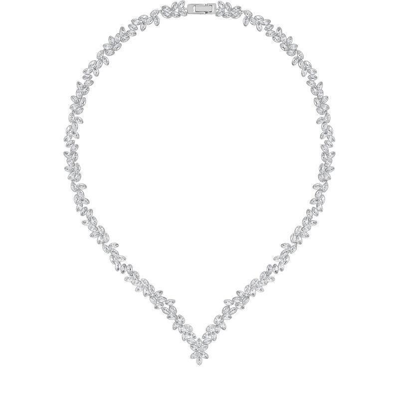 Ladies Swarovski Stainless Steel Diapason Necklace 5184273
