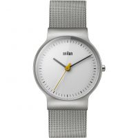 Mens Braun BN0211 Watch BN0211WHSLMHL
