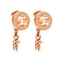 Ladies Folli Follie Sterling Silver Classy Earring 5040.2250