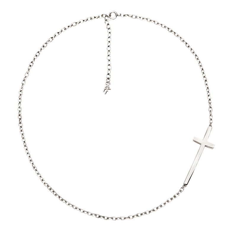 Ladies Folli Follie Sterling Silver Karma Necklace 5020.2641