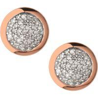 Ladies Links Of London Sterling Silver Diamond Essential Earring 5040.2409