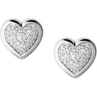 Ladies Links Of London Sterling Silver Essential Diamond Earrings 5040.2410