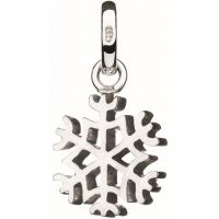Links Of London Dames Keepsakes Snowflake Charm Sterling Zilver 5030.0993