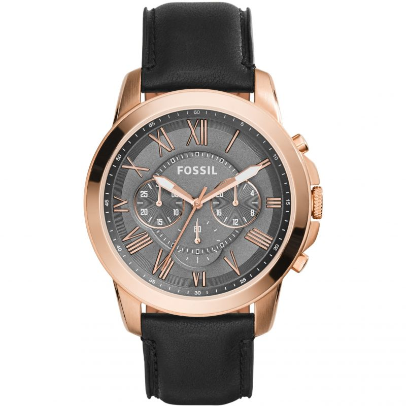 Mens Fossil Grant Chronograph Watch FS5085