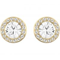 Ladies Swarovski PVD Gold plated Angelic Earrings