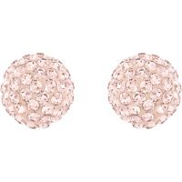 Damen Swarovski PVD Rosa plating Blow Ohrringe