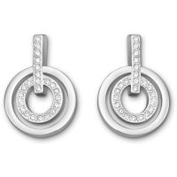 femme Swarovski Jewellery Circle Earrings Watch 5007750