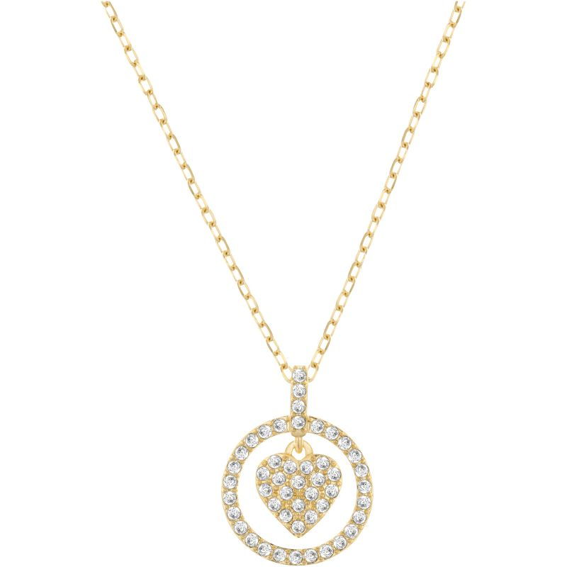 Ladies Swarovski PVD Gold plated Crocus Necklace 5128098