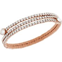 femme Swarovski Jewellery Twisty Bracelet Watch 5073594