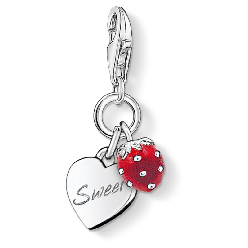 Ladies Thomas Sabo Sterling Silver Charm Club Sweet Charm 0818-007-10