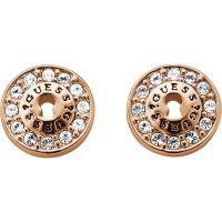 Ladies Guess Rose Gold Plated Earrings UBE71331