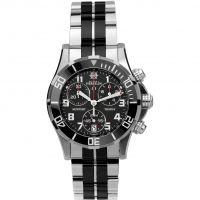 femme Michel Herbelin Newport Trophy Chronograph Watch 34596/N04BN