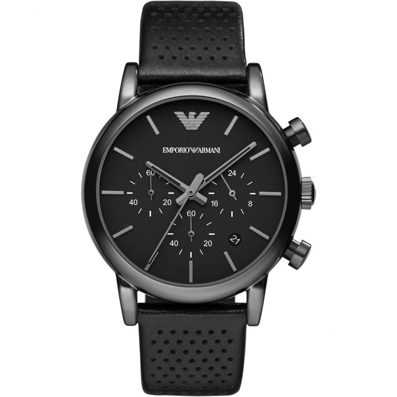 homme Emporio Armani Chronograph Watch AR1737