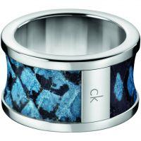 Damen Calvin Klein Edelstahl Größe O Spellbound Ring