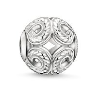 Ladies Thomas Sabo Sterling Silver Karma Beads - Wave Bead K0017-001-12
