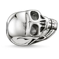 Ladies Thomas Sabo Sterling Silver Karma Beads Small Skull Bead K0064-001-12
