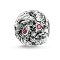 Ladies Thomas Sabo Sterling Silver Karma Beads - Koi Bead K0094-639-10