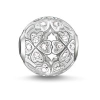 Ladies Thomas Sabo Sterling Silver Karma Beads - Clover Leaf Bead